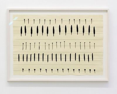 Carola Dertnig, 'Singing Nails I', 2019