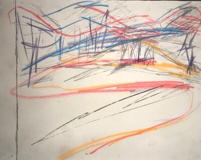 Frank Auerbach, 'Primrose Hill', 1961