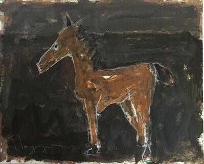 Paul-Henri Bourguignon, 'Brown Horse (77-10912.11)', 1977