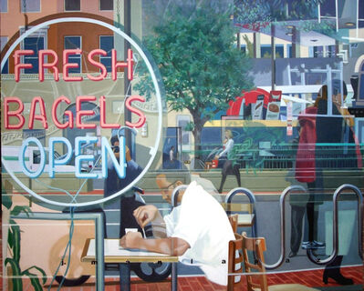 Joey P. Manlapaz, 'Bagels', 2005
