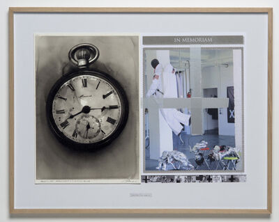 Roman Uranjek & Radenko Milak, 'August 6 1945, Watch stopped 8:15 by Atomic', 2015