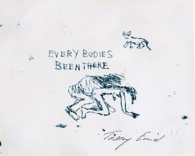 Tracey Emin, 'Everybodies Been There', 1998