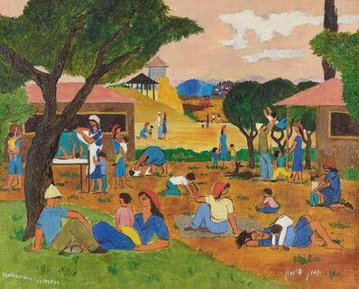 Yohanan Simon, 'Untitled (Kibbutz Scene)'