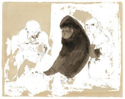 Jose Luis Cuevas, 'The Unholy Three', 1960