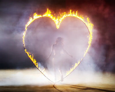 David Drebin, 'Heart Of Fire', 2013