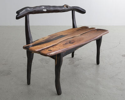 "Babacar Niang, 'Sculptural ""Banquet"" Carved Bench. ', 2014"