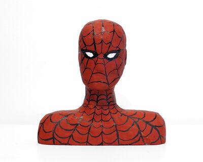 """Oliver Hawk Holden, '""""Spiderman Wood Carving""""', 2019"""