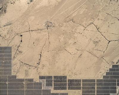 Bernhard Lang, 'Aerial Views, Solar Plants 004', 2018
