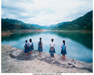 Weng Fen, 'Staring at the lake No. 1', 2004