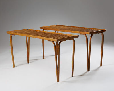Carl Axel Acking, 'Pair of Benches', ca. 1940