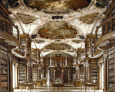 Massimo Listri, 'St. Gallen Library | World Libraries', 2002
