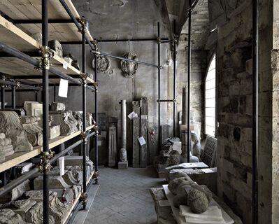Massimo Listri, 'Lapidario di Palazzo Mozzi Bardini', 2009