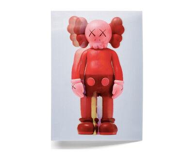KAWS, 'KAWS x NGV Lenticular Postcard (Red)', 2019