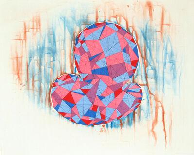Thomas Nozkowski, 'Second Print', 1990