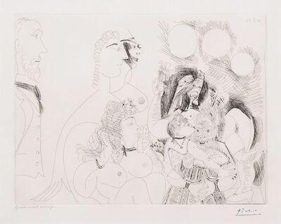 Pablo Picasso, 'La Fete de la Patronne..., from the 156 Series', 1971