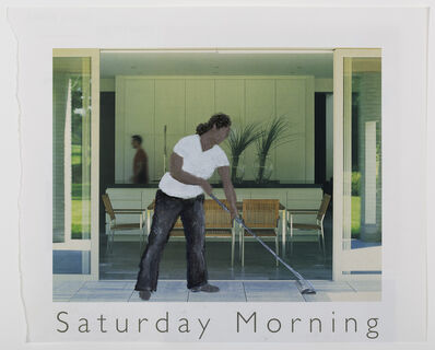 Ramiro Gómez Jr., 'Saturday Morning, Hollywood Hills', 2013