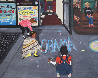 Skye de la Rosa, 'Election Night 2008', 2019