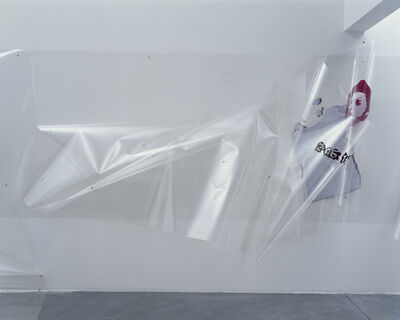 Seth Price, 'Hostage Video Still With Time Stamp', 2008