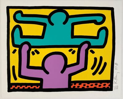 Keith Haring, 'Pop Shop I,  (4)', 1987