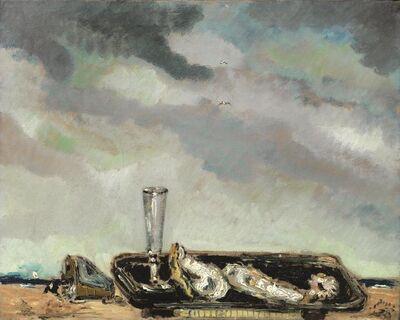 Filippo De Pisis, 'Shells on the marina', 1932