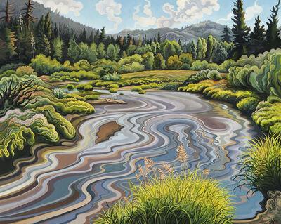 Phyllis Shafer, 'Upper Truckee Gambol'