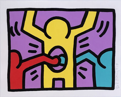 Keith Haring, 'Pop Shop I (C)', 1988