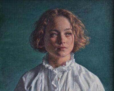 Alex Russell Flint, 'Lily', 2017