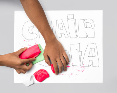 Jeanie Riddle, 'CHAIR SOFA (hands)', 2015-2016