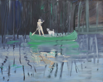 Deborah Brown, 'Canoeist 7', 2019