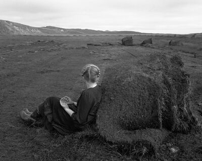 Agnieszka Sosnowska, 'Steinunn with Turf Rolls', 2015