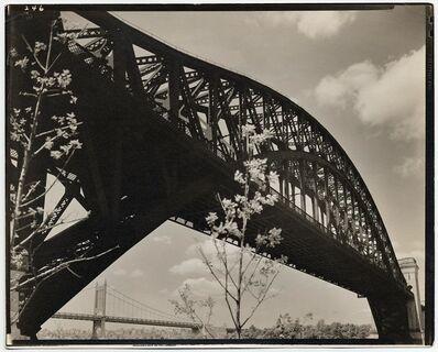 Berenice Abbott, 'Hell Gate Bridge. I.', 1937