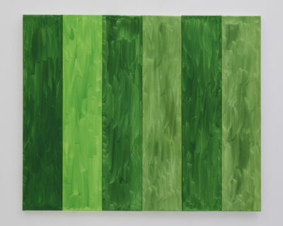 Benjamin Butler, 'Green Forest (in six parts) ', 2019