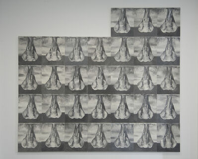 Babak Golkar, 'Deaf Feet', 2017