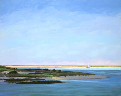 Paul Schulenburg, 'Sunshine on the Harbor', 2017
