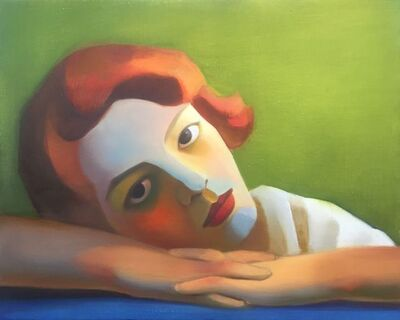 Chen Ke 陈可, 'Bauhaus Girl No.3 (包豪斯女孩 No.3)', 2020