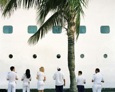 """Anna Beeke, '25 49'45.9""""N 77 54'49.5""""W (Welcome Aboard)', 2014"""