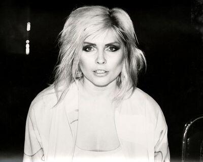 Andy Warhol, 'Debbie Harry (Blondie) (close-up)', 1981