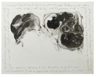 Karen Finley, 'Psychic Portrait (Jackie's Roses)', 2015