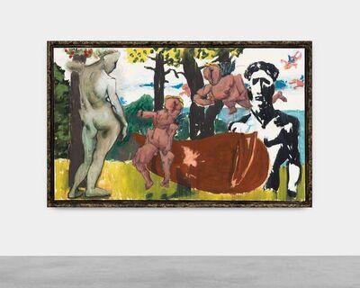 Markus Lüpertz, 'Arkadien - Der Krieg des Amors', 2013