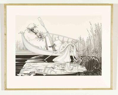 Ralph Steadman, 'Alice Pulling Reeds ', 1967