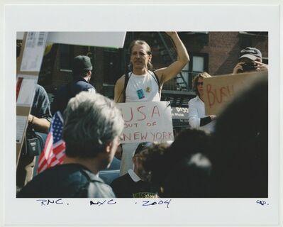 Cheryl Dunn, 'RNC NYC ', 2004