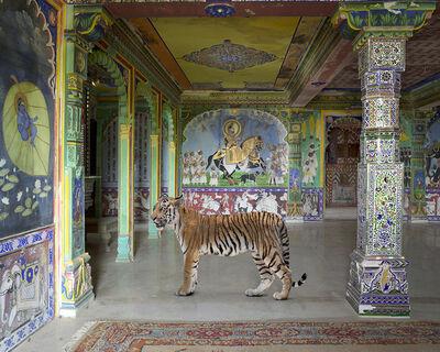 Karen Knorr, 'Arjuna's Path, Junha Mahal, Dungarpur'
