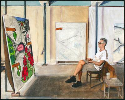 Joe Fig, 'Contemplation: Carroll Dunham', 2015