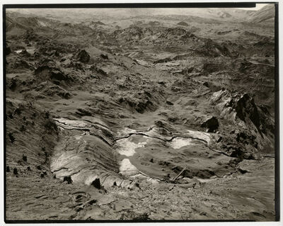 Emmet Gowin, 'Toutle River Valley, Mount Saint Helens, July 28, 1980', 1980