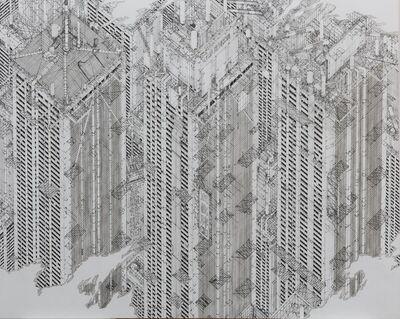 Daisuke Tajima, '統一世界市Ⅳ Unified Cityscape IV', 2020