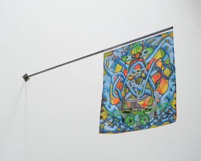 Koi Persyn, 'Janus Flags (2) Hermaphroditos & The Flute Player', 2020