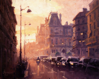 Christopher Clark, 'Light of Paris, study', 2020