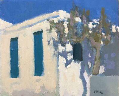 Michael Clark PAI RSW, 'Afternoon, Batsi, Greece', 2018