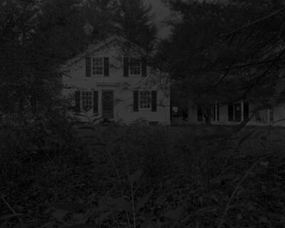 Dawoud Bey, 'Night Coming Tenderly, Black: Untitled #10 (Whedon-Hinsdale House Through Branches)', 2017