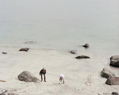 Benjamin Rasmussen, 'Girls Play on the Beach, Faroe Islands'